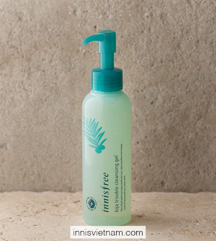 Dầu tẩy trang Bija Trouble Cleansing Gel Innisfree (150ml)