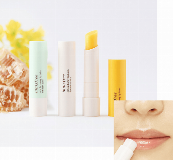 Son Dưỡng Môi Canola Honey Lip Balm Innisfree (3.5g)