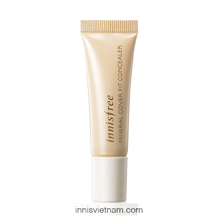 Kem Che Khuyết Điểm Mineral Cover Fit Concealer Innisfree (10ml)