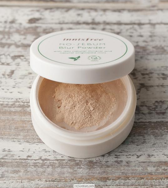 Phấn Phủ Bột No-sebum Blur Powder Innisfree (5g)