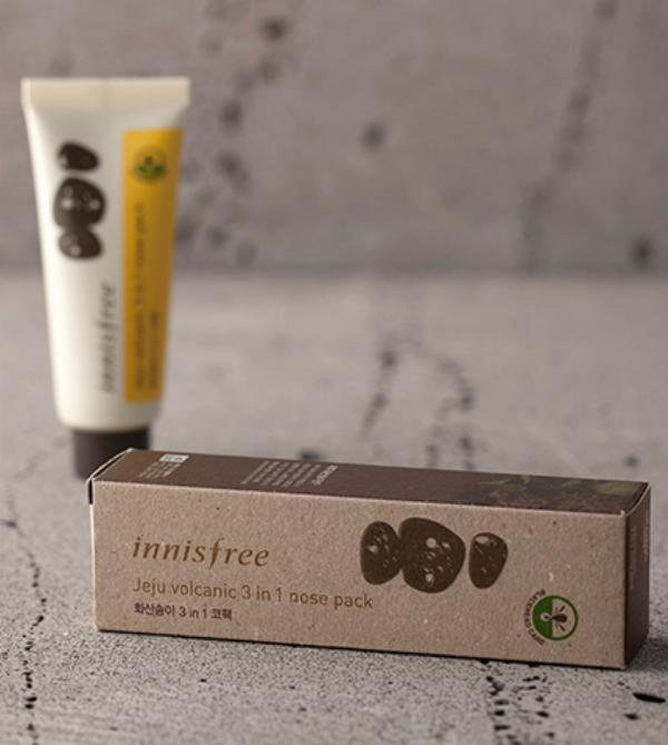 Mặt Nạ Lột Mụn Jeju Volcanic 3 in 1 Nose Pack Innisfree (40ml)