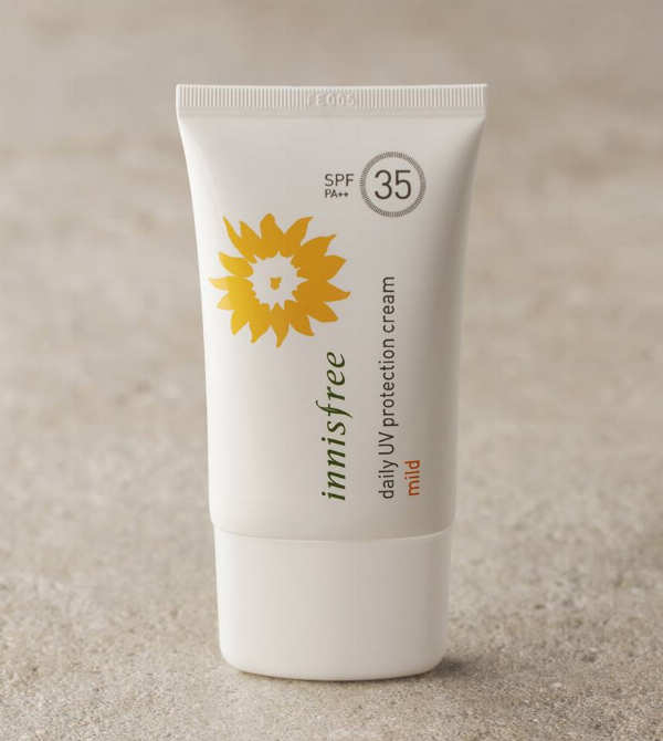 Kem Chống Nắng Daily Uv Protection Cream Mild SPF35/PA++ 50ml Innisfree (PA++ 50ml)