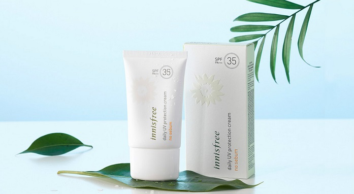 Kem Chống Nắng Daily Uv Protection Cream No Sebum SPF35/PA+++ Innisfree (50ml)