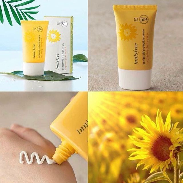 Kem Chống Nắng Perfect Uv Protection Cream Long Lasting SPF50+/PA+++ Innisfree –  For Oily Skin (50ml)