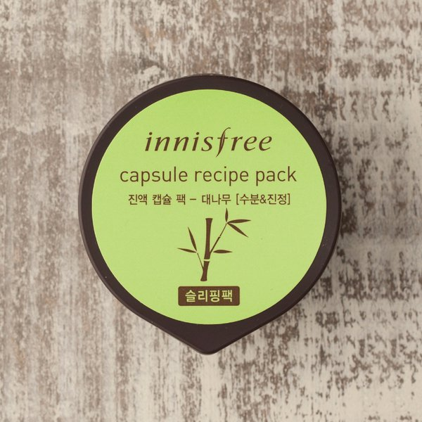 Mặt Nạ Capsule Recipe Pack – Bamboo Innisfree (10ml)