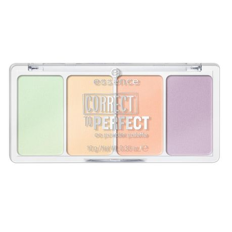 Che Khuyết Điểm Essence Correct To Perfect CC Powder Palette #10 Imperfectly Perfect