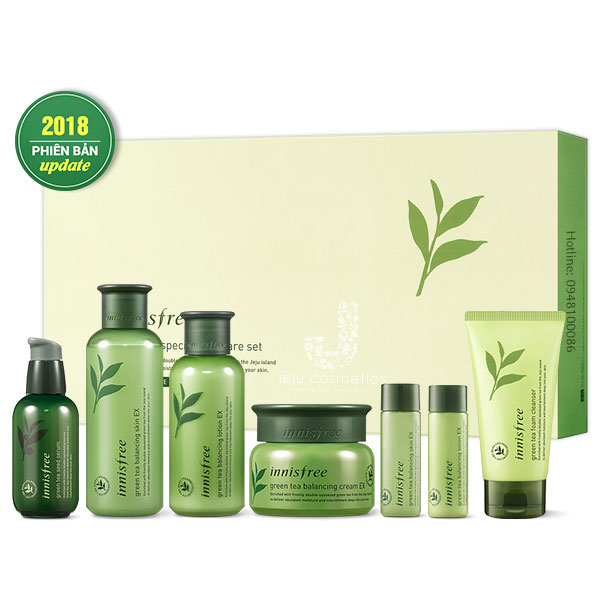 Bộ Dưỡng Innisfree Green Tea Special Skin Care Set
